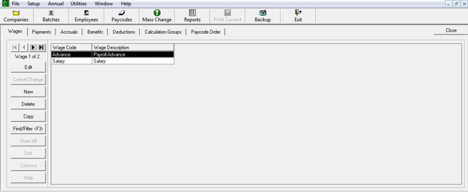 PayDirt-Payroll-Paycodes