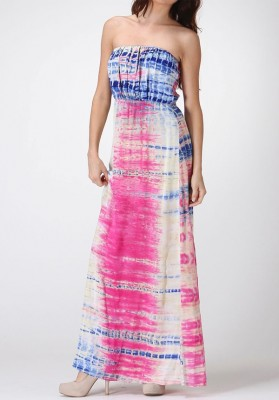 Tips for Finding the Perfect Plus Size Strapless Printed Maxi Dress