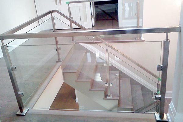 glass railing Kansas City